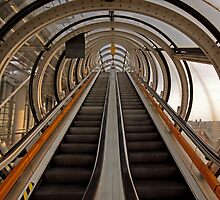 Sky escalator by Marta69