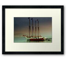Dusk -  Maine Framed Print