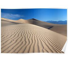 Ripples in the Sand (Death Valley, California) Poster