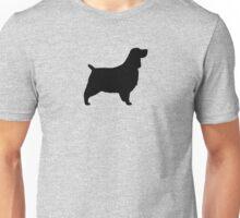 English Springer Spaniel Silhouette Unisex T-Shirt