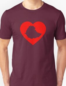 I Heart Ethiopia (Red) T-Shirt