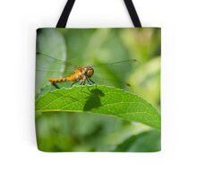 Happy Meadowhawk Tote Bag