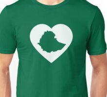 I Heart Ethiopia (White) Unisex T-Shirt
