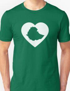 I Heart Ethiopia (White) T-Shirt
