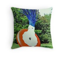 Typewriter Eraser, Scale X Throw Pillow