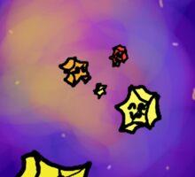 Paper Stars Sticker