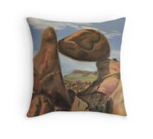 Valley of Love Throw Pillow