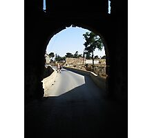 Arch way in Famagusta. Photographic Print