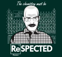 Chemistry Must Be Respected  by Tom Trager