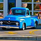 Blue Ford Pickup by carls121