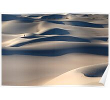 Mesquite Dunes (Death Valley, California) Poster