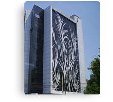 Office Building, Bucharest, Romania Canvas Print
