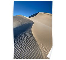 Mesquite Sand Dunes (Death Valley, California) Poster