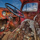 Vintage Truck (Rhyolite, Nevada) by Brendon Perkins