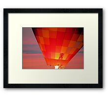 Glowing Support Framed Print