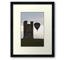 Right place at the right time  Framed Print
