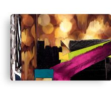Gold and Silver Canvas Print