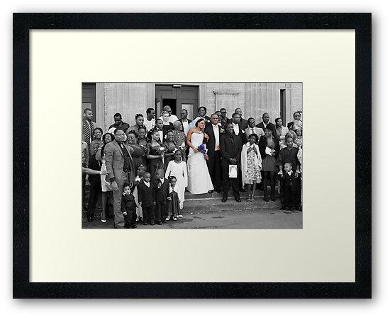 The Bride and Groom - Wedding, London. by DonDavisUK