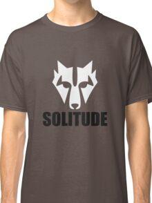 Solitude Wolf Classic T-Shirt