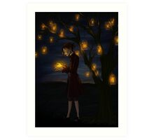 Autumn Glow Art Print