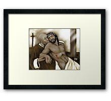 RECLAIMING THE BODY OF CHRIST ! Framed Print