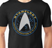 Star Trek - Starfleet / UFP Logo Screen (Screen Accurate!) Unisex T-Shirt
