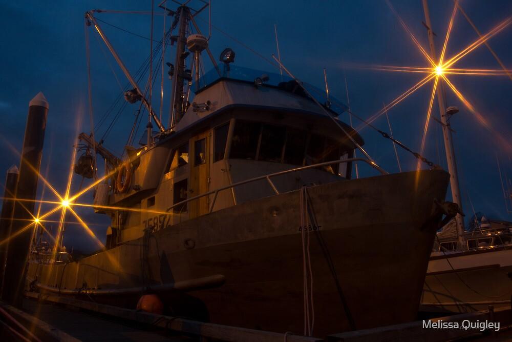 Ghost Ship - Valdez Alaska by Melissa Seaback