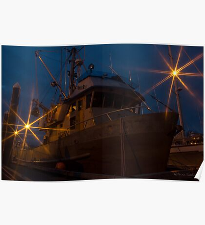 Ghost Ship - Valdez Alaska Poster