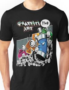 Graffiti Art Unisex T-Shirt
