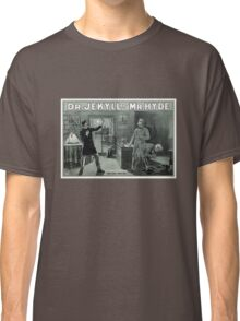 Rare Dr. Jekyll and Mr. Hyde Transformation Poster Classic T-Shirt
