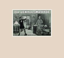 Rare Dr. Jekyll and Mr. Hyde Transformation Poster Unisex T-Shirt