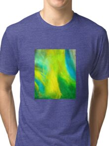 Neon Northern Lights  Tri-blend T-Shirt