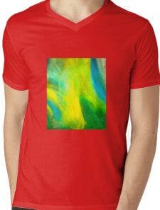 Neon Northern Lights  Mens V-Neck T-Shirt