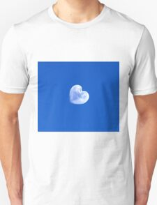 moon heart in the blue sky T-Shirt