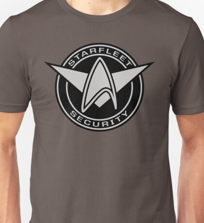 Star Trek - Starfleet Security Logo Unisex T-Shirt