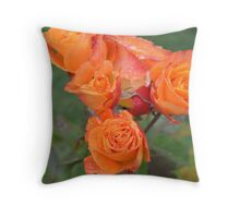 Cluster of Love Throw Pillow