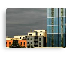 Modern centre blocks Canvas Print
