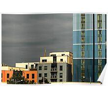 Modern centre blocks Poster