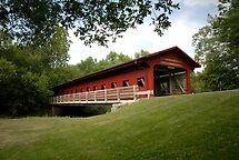 Lake of the Woods Covered Bridge by triciamary