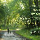 Along Unfamiliar Paths by Kelly Chiara