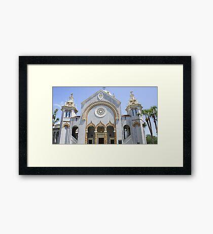 Flagler Memorial Baptist Church Framed Print