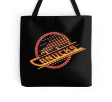 Vancouver Canucks - 80s-90s Logo Tote Bag