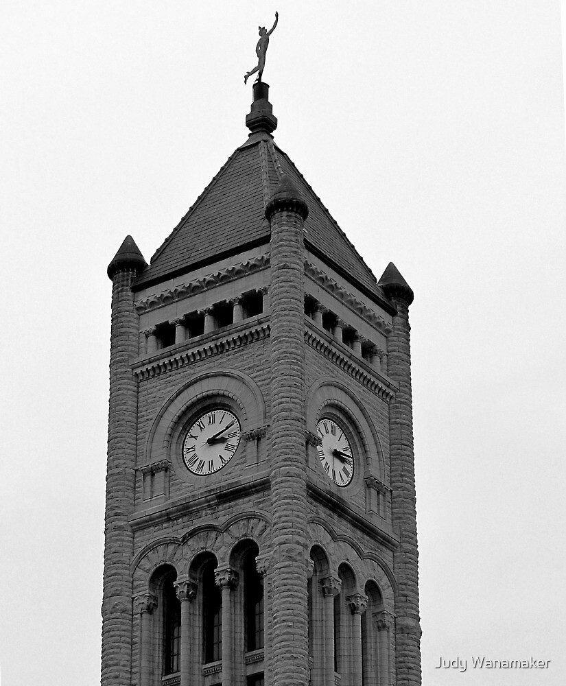 Union Station Tower in Nashville, Tennessee by Judy Wanamaker