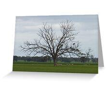 Wonderful Trees 6 crop Greeting Card
