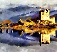 Eilean Donan Castle, Scotland by Dennis Melling