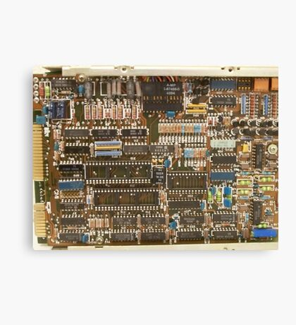 Early Computer CPU Canvas Print