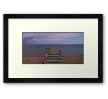 Calm waters - Campbells Cove Framed Print