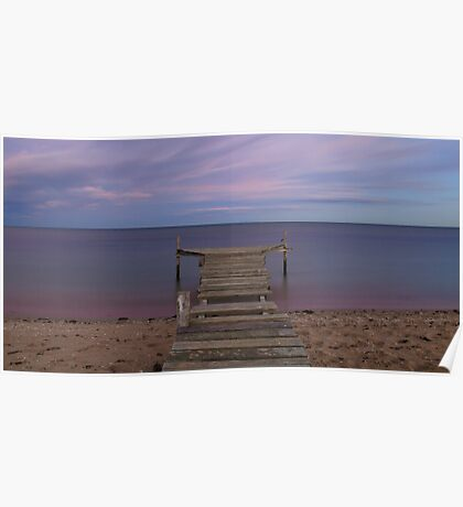 Calm waters - Campbells Cove Poster