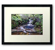 Leura Falls - Leura Framed Print