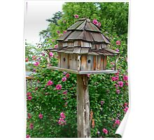 Delux Bird House~ Poster